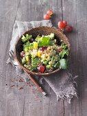 Vegan buckwheat and broccoli tabbouleh (Sirtfood)