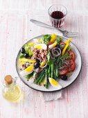 Salade niçoise with tuna (Sirtfood)
