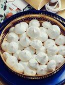 Chickpea meringue kisses