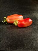 Two San Marzano tomatoes