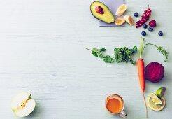 Top Ten der Superfrüchte und Powergemüse