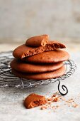 10-minute hazelnut and nougat cream cookies