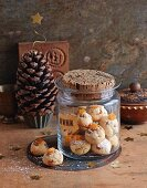 Pinecone pastries with apricots
