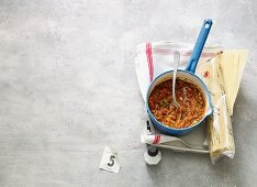 Quick and easy bolognese