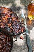 Spicy Cajun ribs (USA)