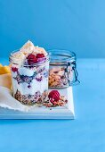 Crunchy Muesli and Chai Yoghurt Pots