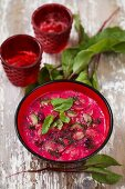 Beetroot cooler