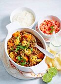 Beef and Vegetable Curry