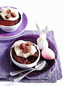 Choc-Caramel Self-Saucing Puddings