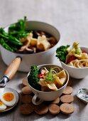Pork and Prawn Wonton Soup
