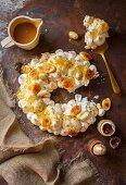 A banoffee eton nest (Easter dessert)