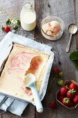 Strawberry Ripple Ice Cream
