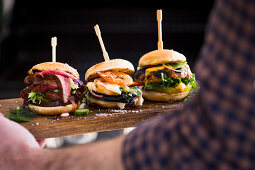 Grilled sliders