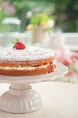 Victoria sponge cake (afternoon tea)