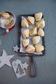 Russian quark cookies (Christmas)