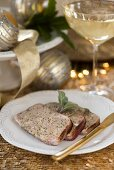 Meat terrine (as a side dish for Christmas dinner)