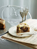 Mochaccino Marbled Mud Cake