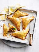 Chicken and Vegie Pastries