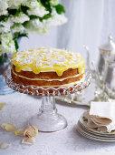 Zitronentorte mit Lemon Curd