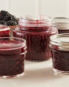 Blackberry and currant jam