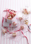 White Chocolate and Raspberry Rocky Road