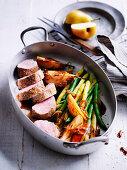 Five-spiced pork fillet