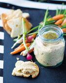 Creamy fennel spread
