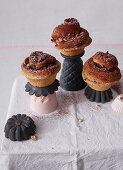 Brioche nougat muffins