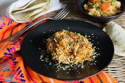 Tinga Poblana (chicken dish, Mexico)