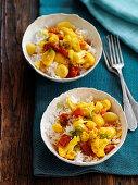 Aloo Gobi (cauliflower and potato curry, India)