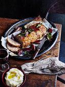 Pork and Veal Meatloaf with Fig Glaze