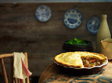 Chuncky Pork and Fennel Pie