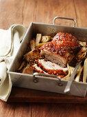 Cider-Roasted Pork Belly