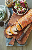 Porchetta with fennel salad (Italy)