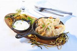 Wareniki (Ukrainian dumplings)