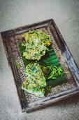 Water spinach tempura (Thailand)