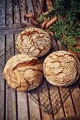 Crusty Fürstätt bread
