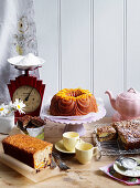 Simple Retro baking for Afternoon Tea
