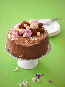 Chocolate cream cake (Easter)