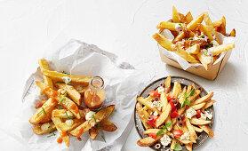 Chips Mumbai, Zorba and chili cheese