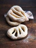 Fougasse (yeast bread, France)