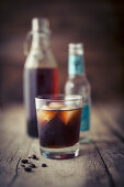 Cold Brew served with tonic water