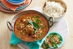 Thai Beef Curry with Rice