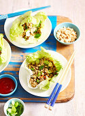 Pork in Lettuce Cups