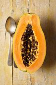 Halbe Papaya