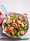 Mussel and Prawn Stir Fry