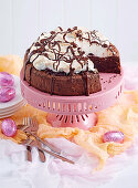 Flourless Chocolate Meringue Cake