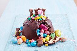 Easter Egg Smash Cake