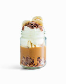 Banoffee Trifle im Glas