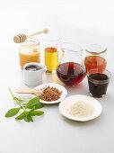 Various natural sweetners